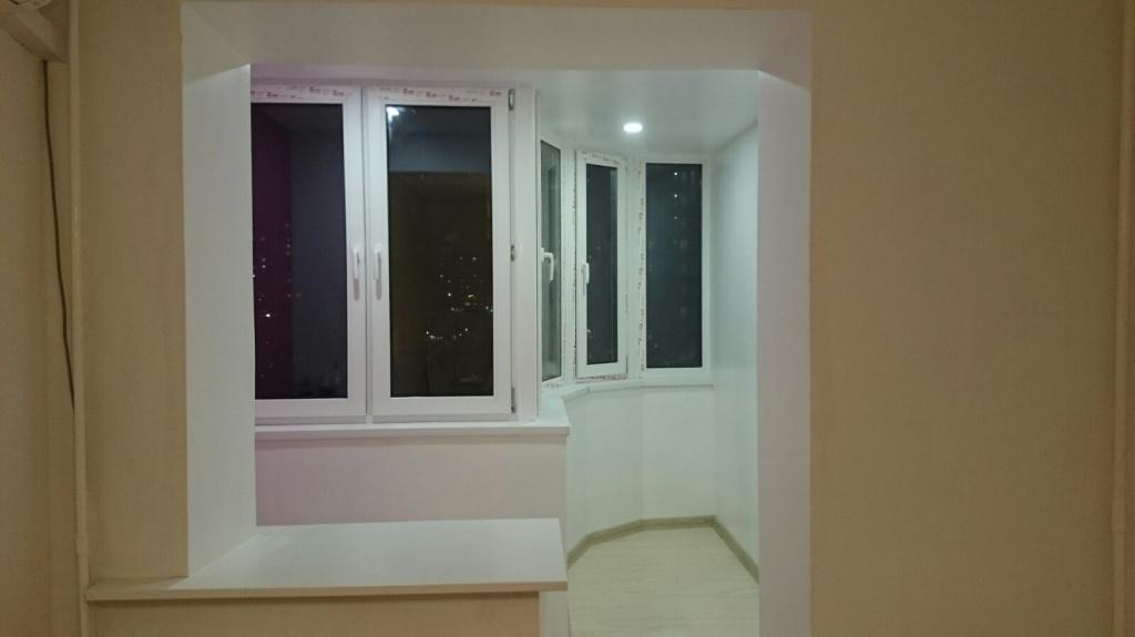Остекление и отделка балконов в москве, стоимость остекления.