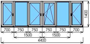 Балконное остекление в москве, системы остекления балкона.